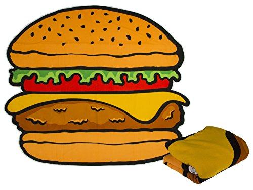 Bahia vista enorme telo mare hamburger