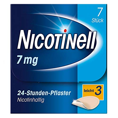 Nicotinell 7 mg/24-Stunden-Pflaster (bisher 17,5 mg) Stärke 3 (leicht), 7 St. Pflaster