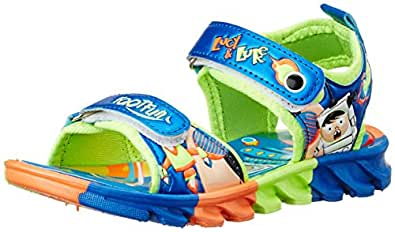 Footfun (from Liberty) Unisex Kld-001 Blue Sandals and Floaters - 5 Kids UK/India (22 EU) (2126004119220)