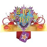 Second Nature - Biglietto d'auguri pop-up per compleanno