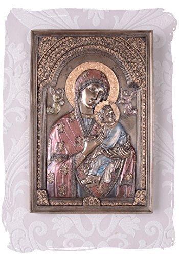 Skulptur, Figur, Büste, Statue, Statuette Heiligenbild nach russischem Original gefertigt,...