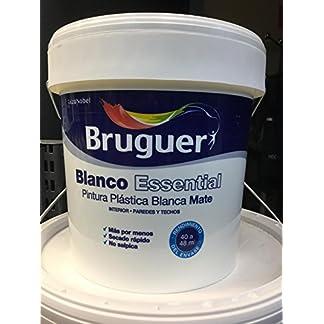 BRUGUER BLANCO ESSENTIAL 4L PINTURA PLASTICA BLANCA MATE INTERIOR PAREDES Y TECHOS