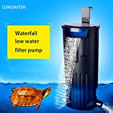Best Turtle Tank Filters - LONDAFISH Mute Turtle Filter Water Submersible Filter For Review