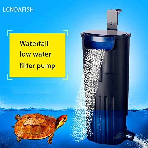 hildkröten-Filter-Wasser-versenkbarer Filter für Schildkröte-Behälter/Aquarium-Filtration 600L / H ()