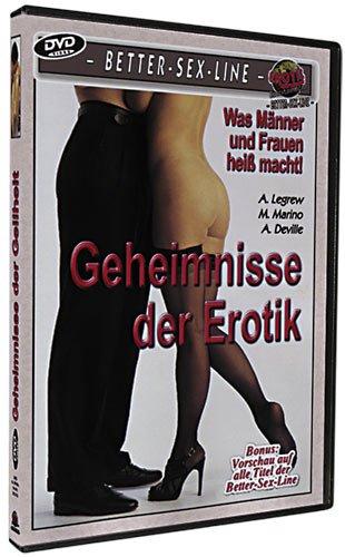 Geheimnisse der Erotik DVD - ...bringt scharfen Sex-Pfeffer in Ihre Partnerschaft! Hei ße Paare zeigen scharfe Spiele für mehr Liebe, Lust, Ekstase und Befriedigung. Gemeinsam ansehen und nachmachen! Ca. 120 Minuten.