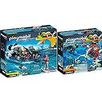 Playmobil Top Agents 2 pcs. Set 70003 70006 SPY TEAM Sub Bot + TEAM S.H.A.R.K. Harpoon Craft