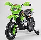 ES-TOYS Kindermotorrad Elektro Cross - 2