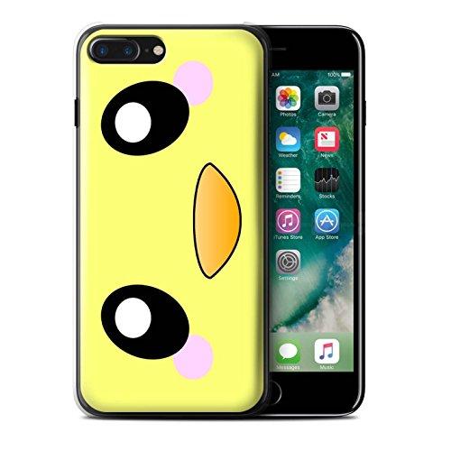 Stuff4 Hülle / Case für Apple iPhone 7 Plus / Löwe Muster / Nette Kawaii Kollektion Küken