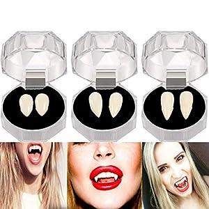 Halloween Prothèses Dentaires Dummy Zombie Vampire Dents Fantôme Diable Chien Dents Denture Vêtements Party Jewelry Creative