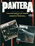 Pantera Selections From Vulgar Display Of Power And Cowboys From Hell Auth Gtr Tb (Authentic Guitar-Tab) by Pantera (1993) Sheet music
