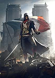 Assassin'S Creed Unity Poster on Satin Paper Hi Quality 36x24 Print