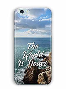 YuBingo The World is Yours Designer Mobile Case Back Cover for Apple iPhone 6