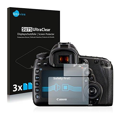 Cover 5d Canon (Canon EOS 5D Mark IV Schutzfolie [6er Pack] - kristallklare Displayschutzfolie Folie Displayfolie)