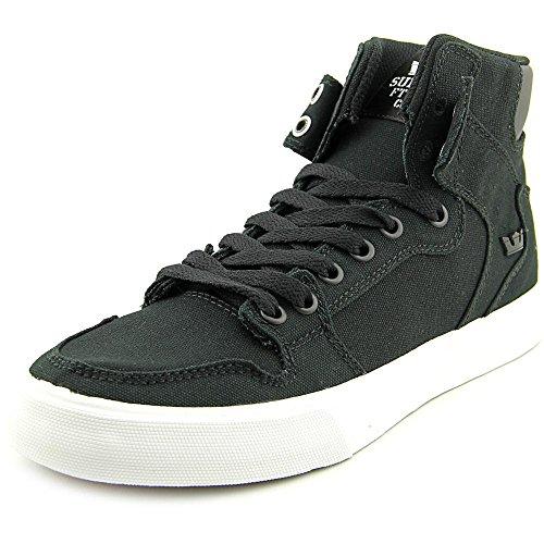 SupraVAIDER D - Sneaker alta Unisex – Adulto Black/White