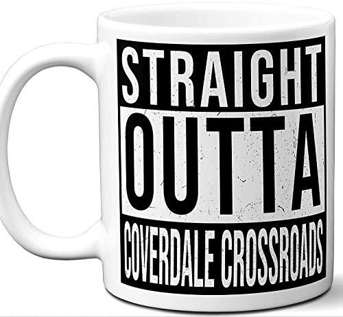 Coverdale Crossroads Delaware DE Souvenir Gift Mug. Unique