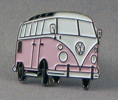 metal-enamel-pin-badge-brooch-pink-volkswagen-vw-camper-van-transporter