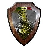 Wappenschild / Wandschild -Giuseppe Garibaldi italienischer Guerillakämpfer Italien Protagonisten des Risorgimento Italia Held zweier Welten Kämpfer #17771