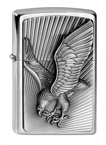 Zippo Feuerzeug 2003979 Eagle Benzinfeuerzeug, Messing
