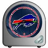 Wincraft NFL Schreibtisch Uhr, 7x 7cm, Buffalo Bills