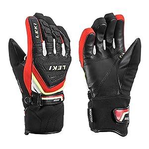 Leki Race Coach C-Tech S Junior Handschuhe (schwarz/rot)
