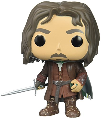 Funko – Lord of the Rings Pop Vinyl Figure 531 Aragorn, 9 cm, 13565