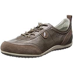 Geox D Vega A, Zapatillas para Mujer, Beige (braun taupec6029), 36 EU