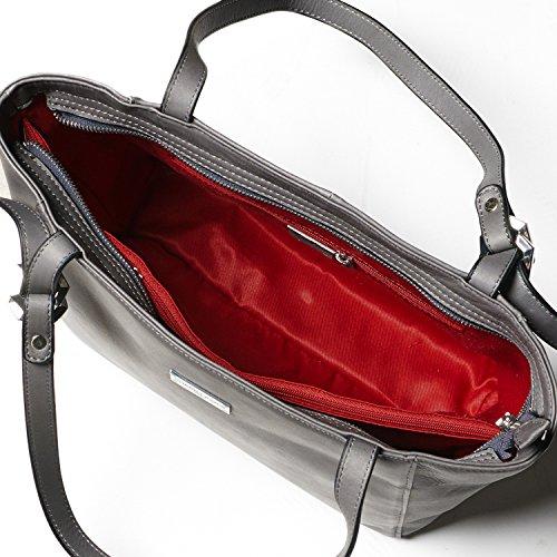 Cherry paris- brussels- Tasche getragen épaule- Damen Taupe