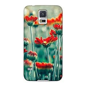 DASM United Samsung S5 Premium Back Case Cover - Flower Field