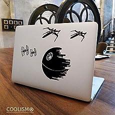 GADGETS WRAP Death Star Wars Laptop Sticker for Apple MacBook Pro Air Retina 11 12 13 15 inch X-Wing VS TIE Fighter Notebook Decal Mac Skin