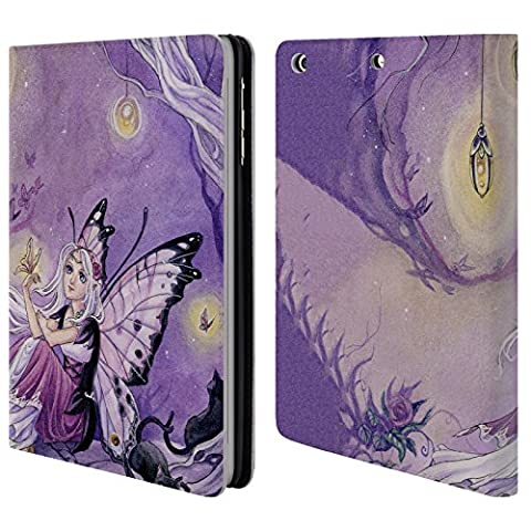 Officiel Meredith Dillman Papillons Fée Étui Coque De Livre En Cuir Pour Apple iPad mini 1 / 2 / 3