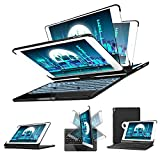 SENGBIRCH iPad Pro 10.5 Teclado Funda, Estuche Rígido con 360 Grados de Inteligente con 7...