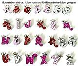 Buchstaben Royalty für Namenshalsband - Für 0,8cm Bandbreite geeignet