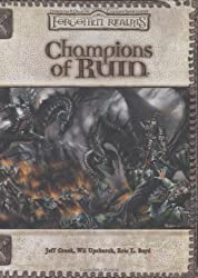 Champions of Ruin (Forgotten Realms)