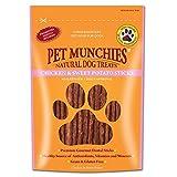 Pet Munchies 100% natürliche Hunde-Zahnpflegesnacks mit Huhn und Süßkartoffel (90 g) (Kann variiren)
