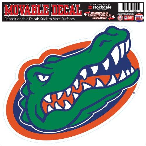 Florida Gator Head-Logo 30.48 cm x 30.48 cm Umklebbare von Stockdale, Vinyl - Alligator-erwachsenen T-shirt
