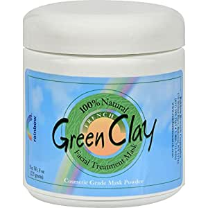 Rainbow Research Green Clay Mask Powder 8 Ounces