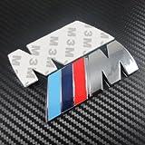 BMW M Serie Logo Sticker Emblema Badge pegatina insignia Chrom 1 3 4 5 6 7 E Z X M3 M5 M6 mline mseries