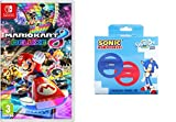 Mario Kart 8 Deluxe + Pack 2 Volantes Sonic (Indeca)