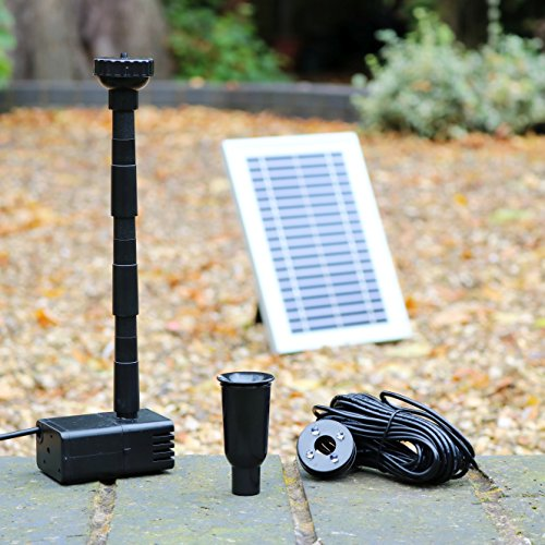 pk green solar pond fountain pump with battery 5w solar water pump for garden water feature. Black Bedroom Furniture Sets. Home Design Ideas
