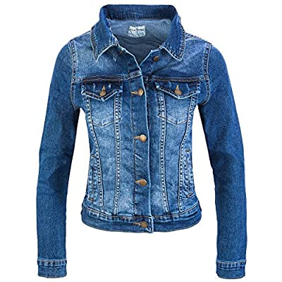 Rock Creek Damen Jeans Jacke Übergangs Jacke D-401