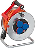 Brennenstuhl Garant S - Carrete de manguera para lavadora a presión  (chapa de acero, IP 44, 25 m)