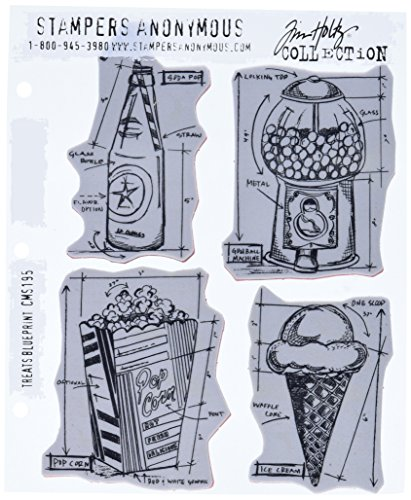 stampers-anonymous-tim-holtz-cling-rubber-stamp-set-7x85-treats-blueprint