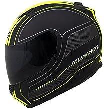 MT Blade Raceline cara completa casco amarillo - pasos