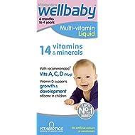 Vitabiotics Wellbaby Liquid Multivitamin, 150 ml, Pack of 3