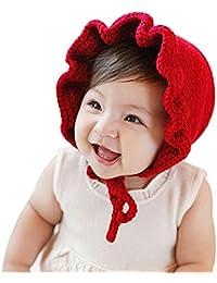 LianLe® Gorro Bebé Ropa Tejida Punto Ganchillo Hecho a Mano Sesiones de Fotos Gorro Niños otoño/invierno