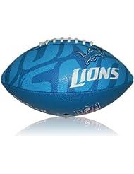Wilson Football NFL Junior Detroit Lions Logo - Balón de fútbol americano ( infantil, caucho ) , color multicolor, talla 5