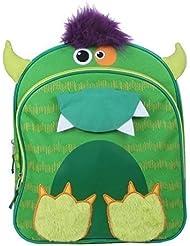Flipeez Monster 14 Backpack Green by Flipeez