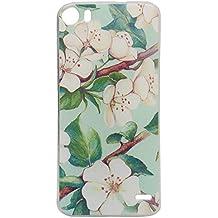Guran® Silicona Funda Carcasa para Doogee F3 / F3 Pro Smartphone Bumper TPU case Cover-Flor