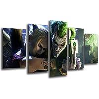 Cuadro Moderno fotografico base madera, 165 x 62 cm, El Joker, Batman ref. 26218