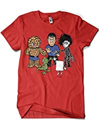 Camisetas La Colmena 541-Big Bang Theory - Piedra Papel Tijera (Samiel)